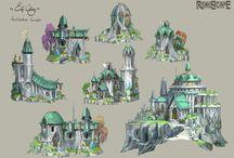 Landmark / Building inspiration for Landmark the game / by ZombieAnna