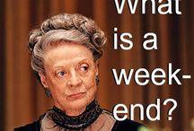 MEDIA FRENZY - Downton Abbey / by Teresa Rawson