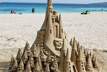 Sandcastles and sand art / by Doug Ghering
