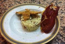 Cocina amateur / Platos preparados para mis amigos