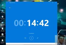 countdown timer feature on windows 10