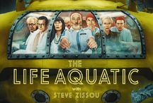 Wes Anderson Films / The movies we have all come to thoroughly love, enjoy and share with others are those made by Wes Anderson. With Bill Murray, Luke and Owen Wilson as his lead cast; how can you not like the films? Purchase and pin your favrotites!