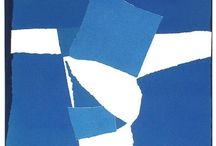 Sandra Blow RA / Sandra Blow artist painter modern abstract st ives cornwall paintings prints silkscreen for sale