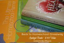 GIVEAWAYS / Homeschool Giveaways