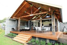 Outdoor timber styles