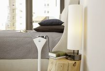Bedroom / Charge while you sleep and have your devices ready to go and right at hand.