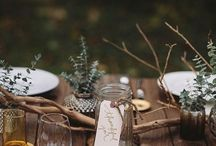 Natural organic weddings / natural deco and gift ideas