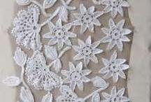 crochet irish, freeform