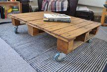 Pallets/steigerhout / (Tuin)meubelen of decoraties maken van pallets of steigerhout