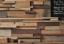 Wood wall diy