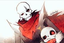 papyrus and sans they bro