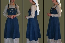 Lyneage I | Elin / Viking apron gowns, Russo koroshniks, &c. / by Ragtime Doll