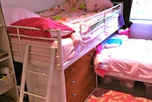 Decor - Pink/Purple Girls Room / by Tiffany Williams