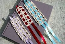 Crochet Bookmarks, Book covers and cases / by Christina Covington