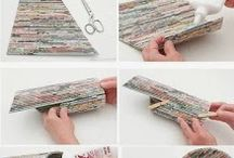 Newspapers diy