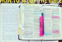 Bible study tips / by Britny Windmiller