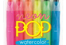 Neon Colors Have More Fun / Neon Products So Bright You Gotta Wear Shades!