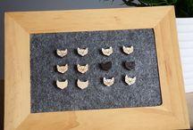 Kocie kolczyki/ cat earrings:)