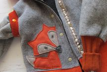 podaj dalej - recycled woollen clothes / Recycled woollen clothes and cloth diaper covers.