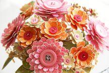 scrap flowers ideas