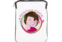 POSITIVE CHICK ONLINE STORE / Are you a Positive Chick? Show the world and buy the best product that represents you.  Online Store: www.cafepress.com/positivechick   And show the world what a kickass Positive Chick you are! Get it!  #positivechicksoulsisters