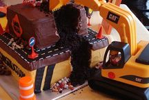 Heavy Equipment Cake