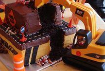 Heavy Equipment Cake
