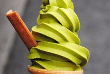 i love green tea ice cream / who could resist an amazing ice cream like green tea? its tasty but will never get u fat.