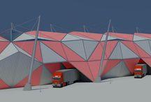 Furniture factory / Date: Concept design: 2009 Client: Mebel trance ltd. Area: 4500 m² Location: Pazardzhik, Bulgaria