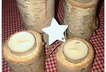 Birch Candle Holders / Birch Candle Holders