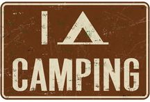 CAMPING - LIVING THE OUTDOOR LIFE / by Diane