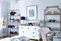 Interior Design Black And White / Spaces homes etc