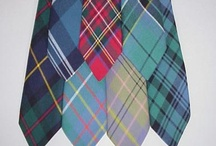 Tartan Ties / We have a wide range of Ties in tweeds, tartan and solid colors. Plaid, Plain or Bow - We have a tie for every occasion.