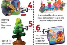 Baby toys / Physical items to play and help babies' natural development.