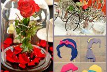 Mariage Disney / Disney wedding / Disney - Princesse - Mariage - féerie -