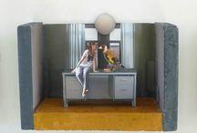 Art -  3D collage / Art -  3D collage  -  www.maritdik.nl