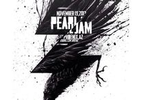 PJ Poster / Pearl Jam Poster von Konzerten, die ich besucht habe bzw. solche die mir selbst super gefallen!
