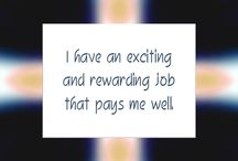 Career and business / Things I want to see happen in my life to help me improve in my business and Currier