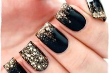 Black n Gold Nailz 2 try