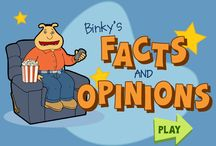 Fact and Opinion / Ideas for teaching fact and opinion  in the elementary classroom / by Primary Junction