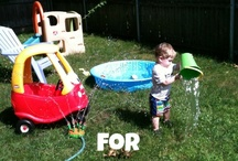 summer fun / by Faithful with the little