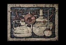Festett mozaikok