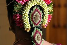 South Indian Bridal Hair Accessories / Gorgeous Board for South Indian Bridal Hair Accessories