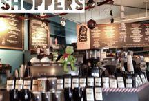 Nashville, TN Coffee Shops / Guides to Nashville Coffee Shops / by Elizabeth Hyndman