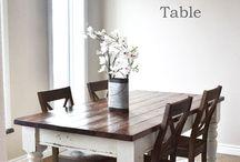 farm house table. DIY