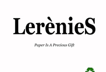 LerènieS - Paper is a Precious Gift / Lerènies is a project launched  by Maria Francesca Batzella. It was born from the idea of creating jewelery with one of the most common materials: paper. Sculptures for the body, with a strong respect for recycling. The precious jewel is not able to buy a high value thanks to its artistic and conceptual aspect.