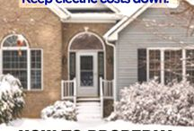 Prepare for Winter / Winterizing your home saves money and keeps your warm during the cold months. There are simple steps you can take to keep your house insulated to its fullest potential. Check out some of our home winterization blogs.