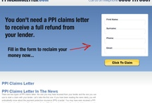 PPI claims letter / by Vanessa Curbly