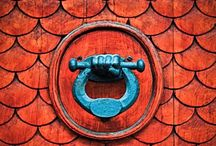 Design ideas - Asian-Inspired: red and aqua