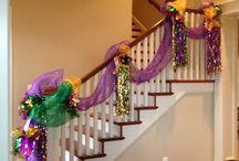 Mardi Gras / Our favorite Mardi Gras party ideas, recipes, decorations, and fresh floral arrangement ideas. Mardi Gras is February 28th. http://www.triasflowers.com/